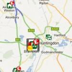 The BigBarn local food map