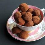 Beetroot chocolate truffles