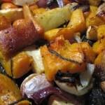 Roasted winter veg