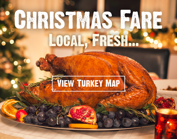 Christmas Turkey and Goose - Free Range