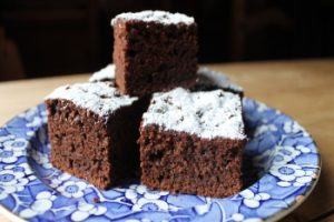 Chocolate Courgette Tray Cake
