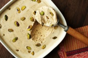 Non Churn Pistachio Ice cream
