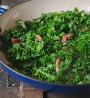 Curly Kale with Bacon