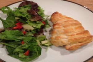 Lamb Cutlets In Puff Pastry With Sun Dried Tomatoes