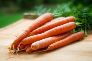 Roast carrots with orange ginger and cumin